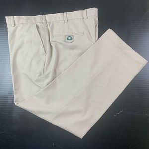 BROOKS BROTHERS St Andrews Links Mens Golf Pants Size 40x30 Light Brown